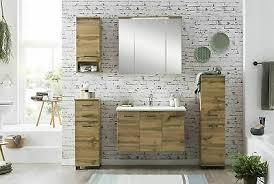 badezimmermöbel badmöbel set 3teilige eiche landhaus dekor
