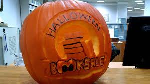Spirit Halloween Denton Tx by Halloween Book Sale Pumpkin Youtube