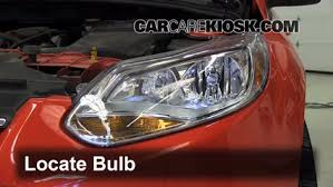 headlight change 2012 2016 ford focus 2012 ford focus se 2 0l 4