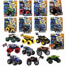 100 Hot Wheels Monster Truck Toys Jam W Team Flag