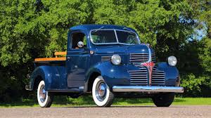 100 Blue Dodge Truck 1945 Pickup Top Speed