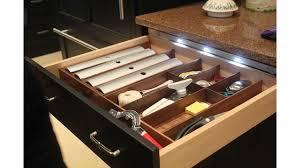 lighting inside kitchen cabinets led kitchen cabinet drawer