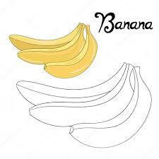 Coloriages Imprimer Banane Page 1 Coloriages Imprimer Pour Les