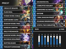 priest deck hearthstone the 5 best hearthstone whispers of the gods decks for and
