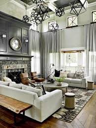 Living Room With Fireplace Design by Confortable Transitional Living Room Ideas With Interior Home