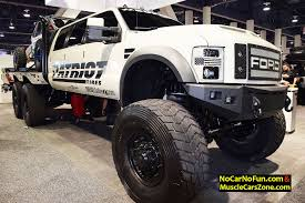 Huge 6-door Ford Truck By DieselSellerz With Buggy On Top - 2015 ...
