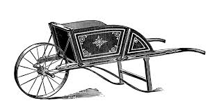 vintage garden clipart old fashioned wheel barrow henderson barrow image free black and