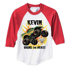 100 Monster Truck Shirts Jam Bring The Heat Dragon Red Sports Jersey Tvs Toy Box