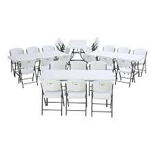 6 Ft. Commercial Nesting Lifetime Plastic Table 12-Pack With 72-Pack Chairs  80545 (White Granite) 8 Folding Table And Chairs Brusjesblog Lifetime White Granite Shopsm Chair 80747 Classic Card Tables Tablecloth Black 42804 Commercial Grade 6foot Plastic Traing Seat Metal Frame Outdoor Safe Set Of 4 80155 Loop Leg Lawn Pack Anders Mandaue Foam Lancaster Seating 72 Round Heavy Duty