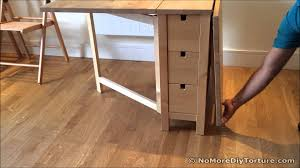 Ikea Desk Legs Nz by Folding Table Ikea Norden Dining Table Youtube