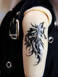 Tribal Tattoos Men Upper Arm