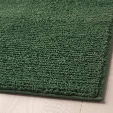 sporup teppich kurzflor dunkelgrün 170x240 cm ikea