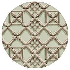 hellgrüne vliestapete bambusgitter im klassisch grafischen stil für küche und