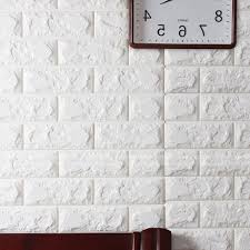 Most Up To Date 3D Brick Pattern Wallpaper Modern Wall Background Tv Bedroom With