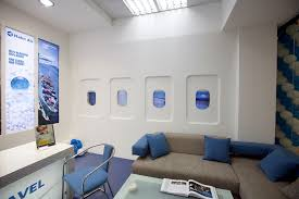 Travel Agency Office Interior Design Perfect Landscape Collection For Decorating Ideas