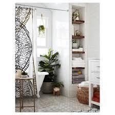 Medallion Shower Curtain Curtains Ideas