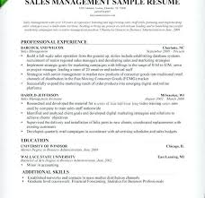 Sample Resume For Fmcg Sales Manager With Download To Frame Inspiring 985