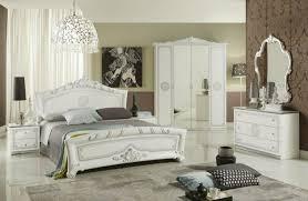schlafzimmer great weiss silber klassische design italienisch