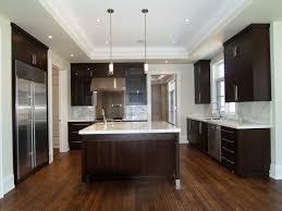 Kitchen Cabinet Soffit Ideas by Espresso Kitchen Cabinets Design Ideas