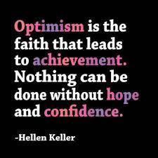 Hellen Keller Confidence Inspirational Magnet
