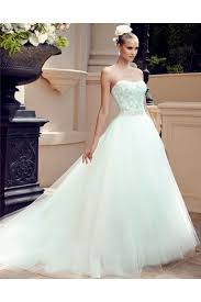 gorgeous ball gown strapless embroidery beaded swarovski crystals