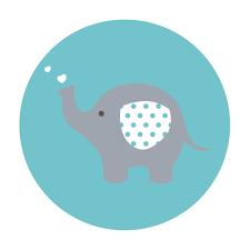 Blue Elephant Baby Shower Thank You Cards Mom Baby Elephant Thank You Note Blue Brown Baby Shower Thank You Card Printable Baby Shower Card