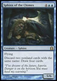 see i can be useful too a sphinx of the chimes combo deck