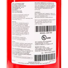 Fire Extinguisher Mounting Height Code by Badger Advantage Adv 550 5 Lb Dry Chemical Abc Fire Extinguisher