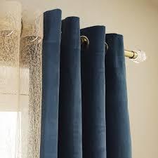 rideau tamisant cambridge bleu l 140 x h 260 cm leroy merlin
