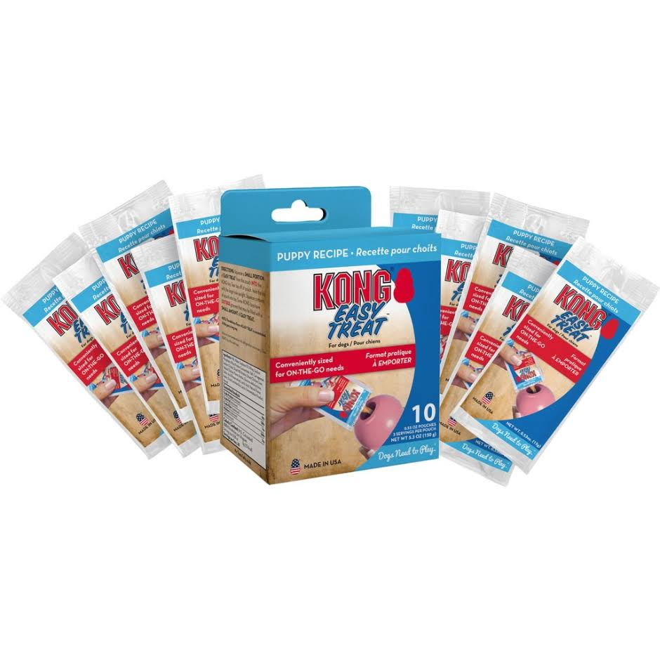 Kong Easy Treat to Go Puppy Recipe 10-Pack