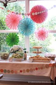 Fall Bridal Shower Table Settings