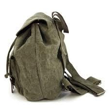 sac a dos toile sac a dos toile et cuir