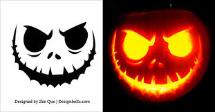 Pumpkin Carving Cutouts by 10 Free Scary Halloween Pumpkin Carving Stencils Patterns U0026 Ideas