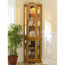 black corner curio cabinet with light wallpaper photos hd decpot