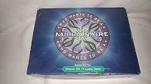 Who Wants To Be A Millionaire Board Game Based On Tv Show Made In 2000