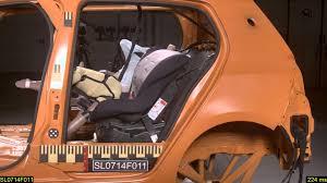 siege auto groupe 1 2 3 crash test nania safety sp