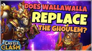 Castle Clash Pumpkin Duke Best Traits by Castle Clash Does Wallawalla Replace Ghoulem Youtube