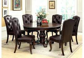 7 Piece Dining Table Sets Marble Coronado Round