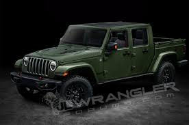 100 4 Door Jeep Truck Will The WranglerBased Pickup Be Called Gladiator
