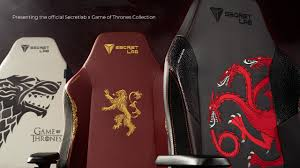 Secretlab Is Launching Game Of Thrones Gaming Chairs For A ...