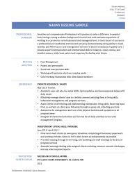 Download Now Nanny Resume Example 64 Images Housekeeper Cv Of Free Perfect