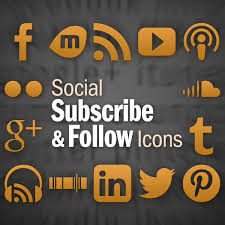 Social Subscribe Follow Icons Plugin For WordPress