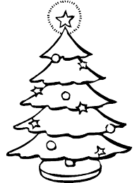 Christmas Tree Coloring Page Print by 2017 Christmas Tree Drawing 2017 Christmas Tree Coloring Pages