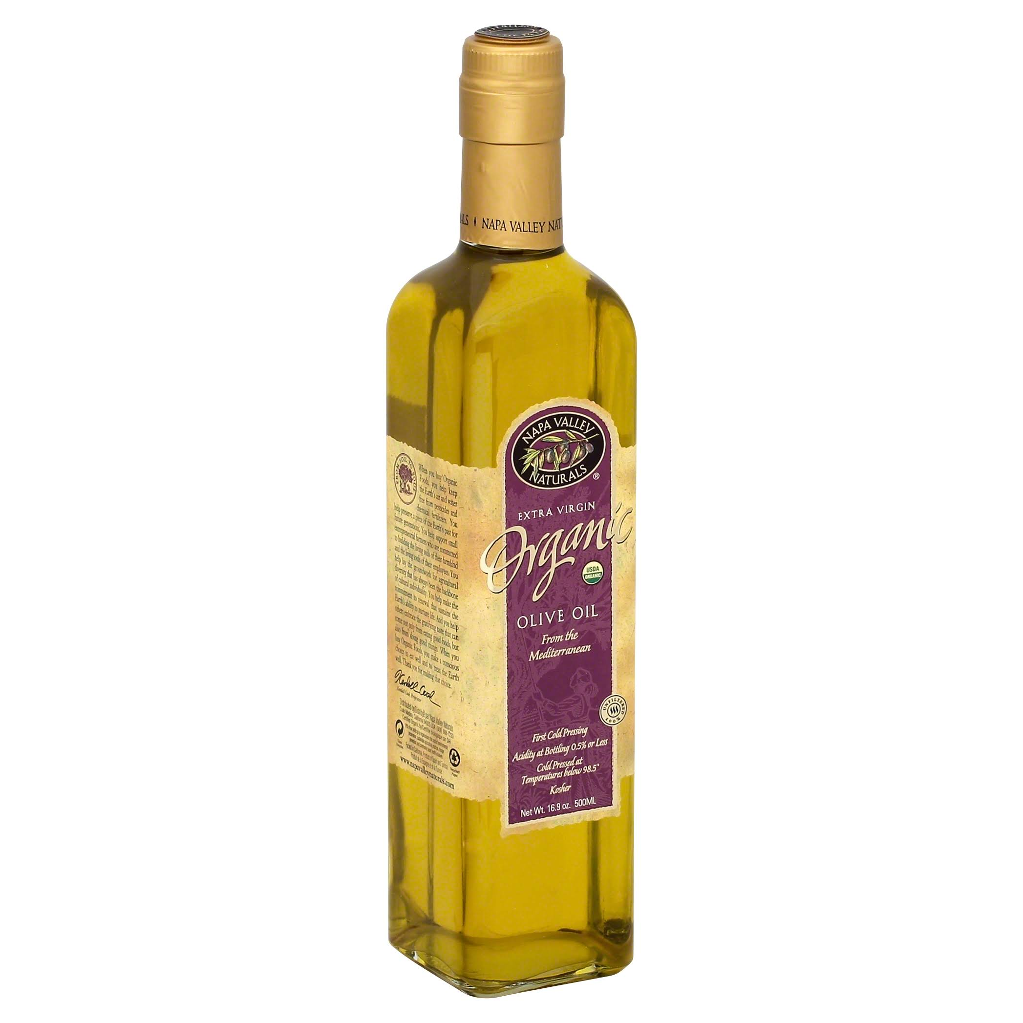 Napa Valley Naturals Organic Olive Oil, Extra Virgin - 16.9 fl oz bottle