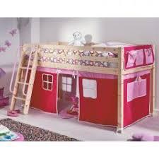 lit cabane pour les petits lit cabane surelevé avec habillage