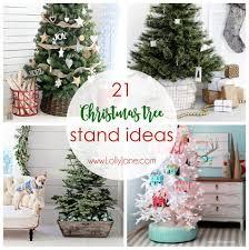 21 Christmas Tree Stand Ideas