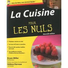 la cuisine pour les nuls livre cuisine salée cultura