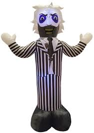 Large Blow Up Halloween Decorations by Beetlejuice Inflatable Decoration Costume Craze