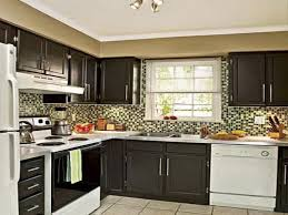 Dark Kitchen Cabinets With Granite