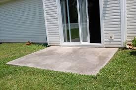 Patio Slabs by Extending Concrete Patio Slab Need Contractor Handyman Referral